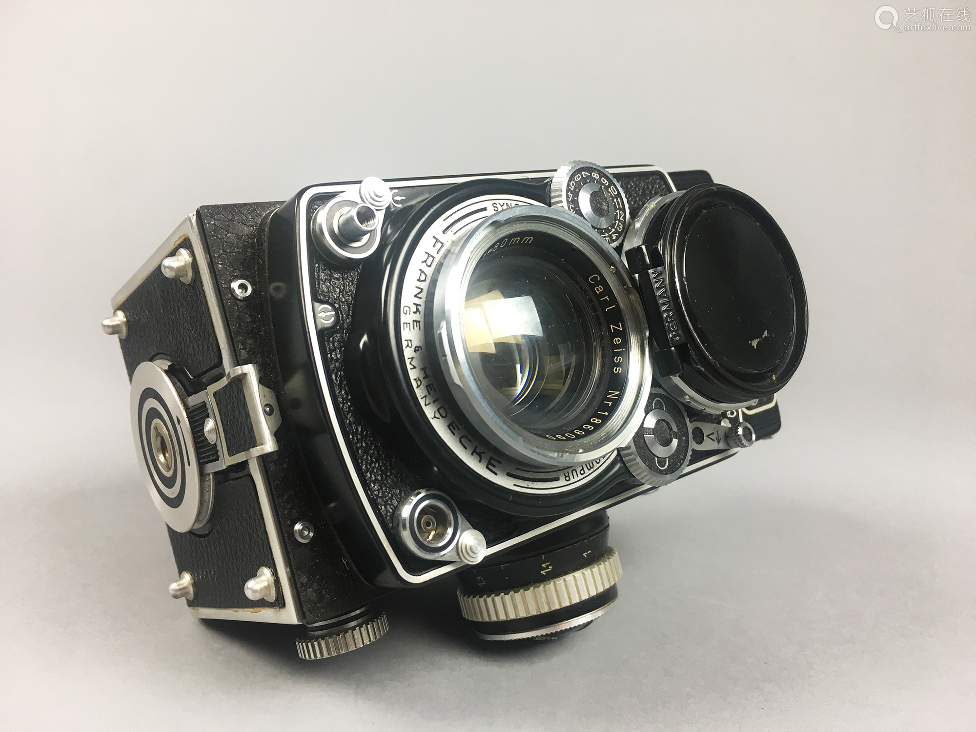 A Rare Rolleiflex Camera In Original Box