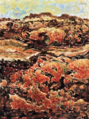 彭常安(B.1965) 2017年作 父亲的果园 布面油画
