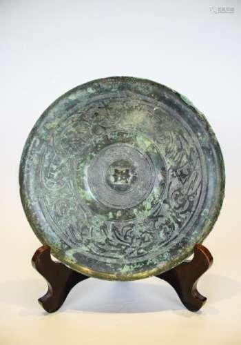 A Song Period Bronze Mirror