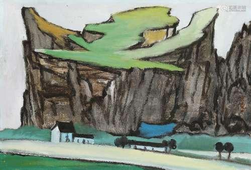 凃克(1916~2013) 风景 布面油画