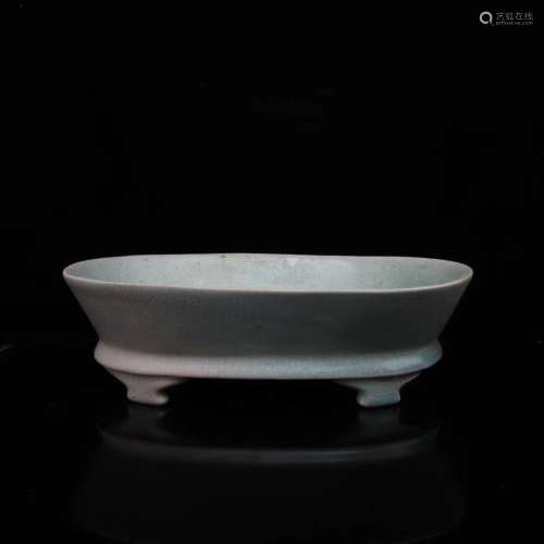 10-11TH CENTURY, A RU KILN BASIN, NORTHERN SONG DYNASTY