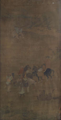 Horses and Riders Anonymous (18th/19th century)