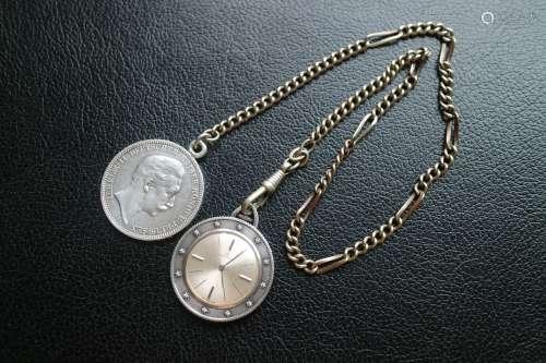 摩凡陀旅行之神银币怀表