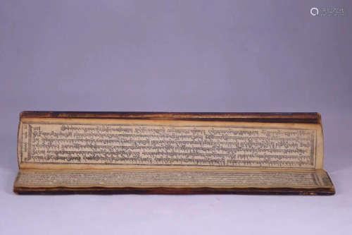 A TIBETAN BUDDHIST SCRIPTURE