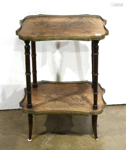 French Art Nouveau occasional table