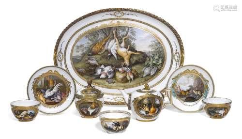 A Meissen (Marcolini) porcelain part dejeuner