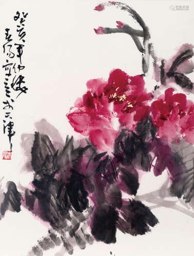 霍春阳(b.1946) 大富贵 纸本 软片