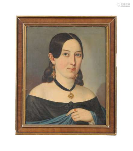 Spanish School (circa 1850)Portrait of a lady