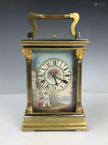 V.R. Brevete French Carriage Clock