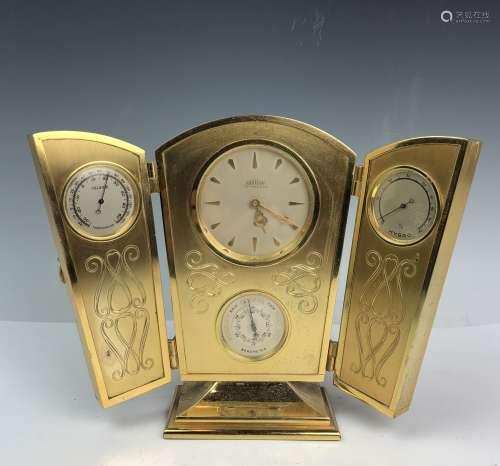 Tiffany & Co. Angelus Desk Clock