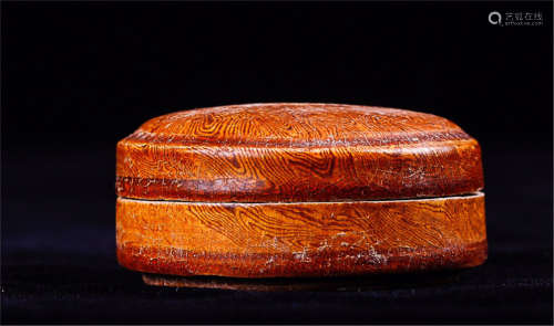 A TWISTABLE GLAZE INCENSE BOX
