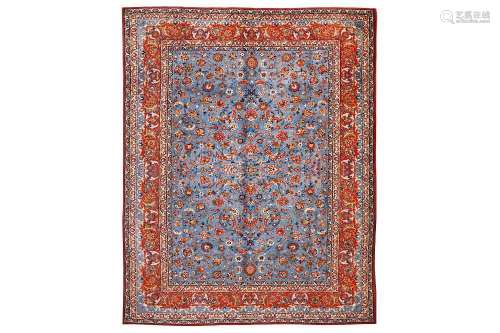 A FINE ISFAHAN CARPET, CENTRAL PERSIA approx: 13ft.2in. x 10ft.5in.(401cm. x 317cm.) Very nice