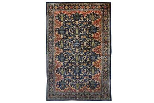 A FINE KIRMAN MILLEFLEUR RUG, SOUTH PERSIA approx: 6ft.10in. x 4ft.6in.(208cm. x 137cm.) Very well