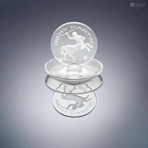 A Post-War 'Remy Martin' Cendrier René Lalique (French, 1860-1945)