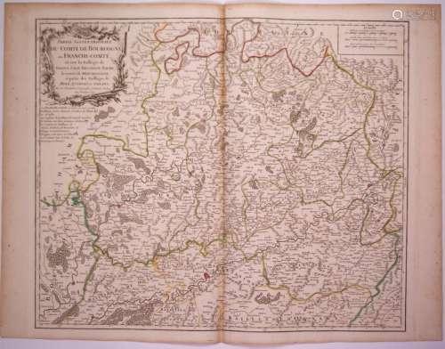 Carte de 1749: «Partie septentrionale du Comté de ...