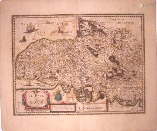 Carte XVIIe s.: «Baillivatus Cauxensis, vulgo LE P...