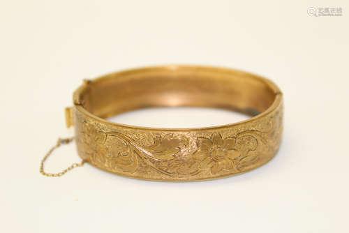 Gilt silver bracelet