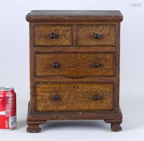 Early Miniature Chest