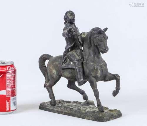 Spelter Metal George Washington Statue