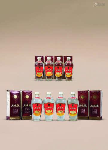 1986-1987年 礼盒五粮液