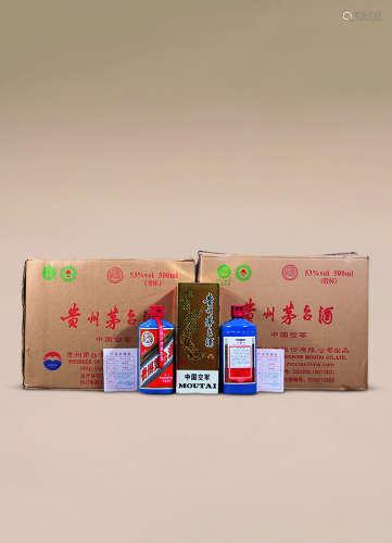 2012年 原箱专供空军军区茅台酒
