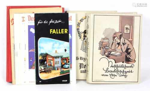 Nesthäkchen- Bücher u.a.3 Bücher, dabei Else Ury *Nesthäkchens Backfischzeit* Eine