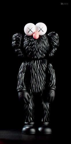 KAWS 2017年作 BFF黑色 搪胶 彩绘