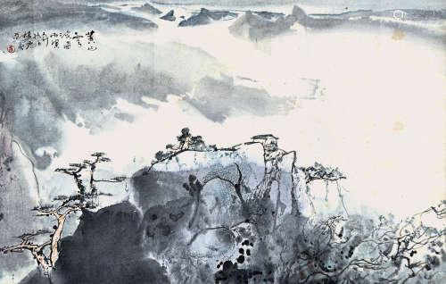 楊彥 黃山雲海