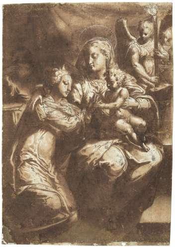 Attributed to Domenico del Riccio, called Il Brusasorci