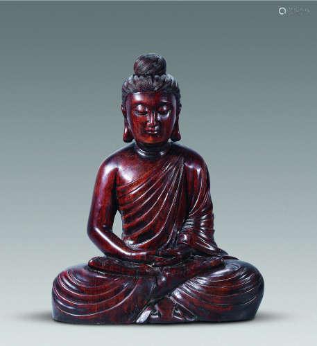 沉香佛祖坐像