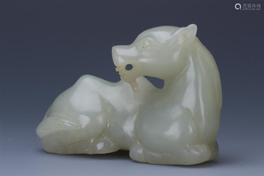 CHINESE JADE COUCHING CAMEL