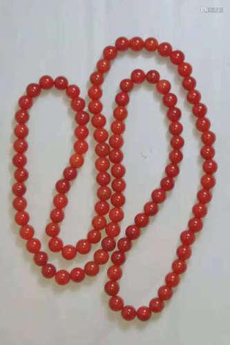 南紅瑪瑙頸鏈