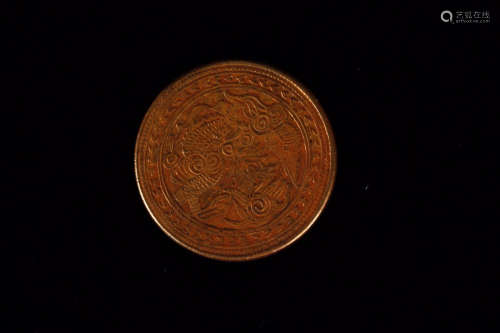 17-19TH CENTURY, A GUANGXU SILVER COIN, QING DYNASTY