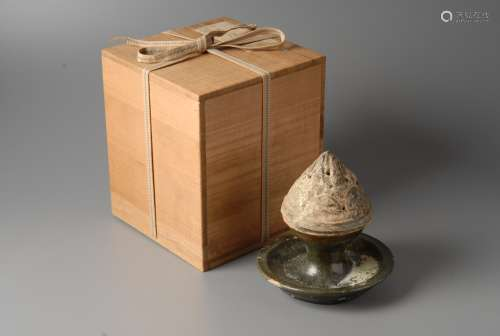 2-A1 汉代绿釉香炉