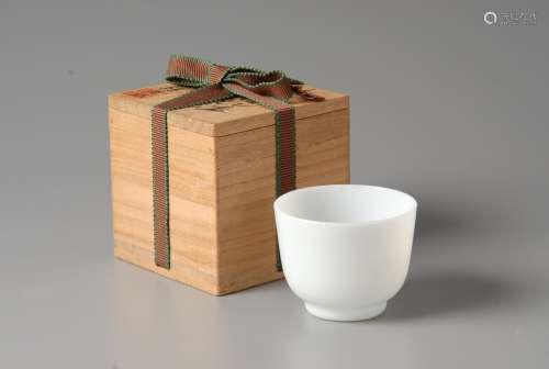 2-A14 乾隆料器茶杯