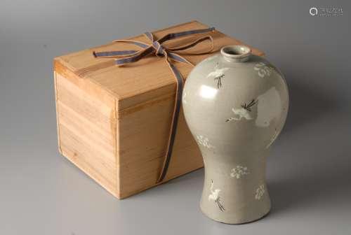 2-A22 高丽青瓷花瓶