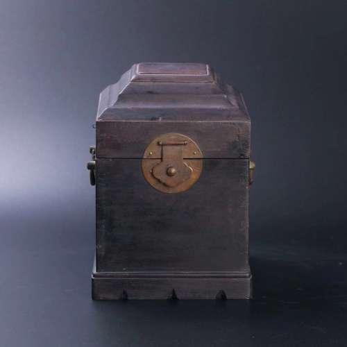 木质官印盒