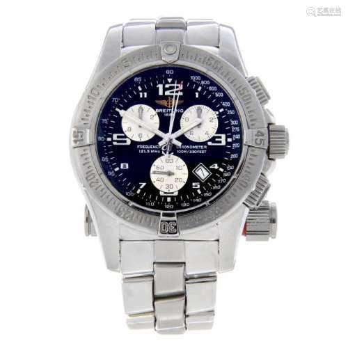 BREITLING - a gentleman's Emergency Mission chronograph