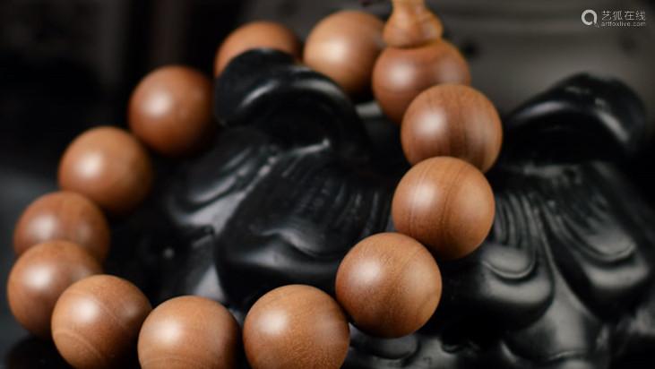 印度老山檀香手串檀香1.8cm
