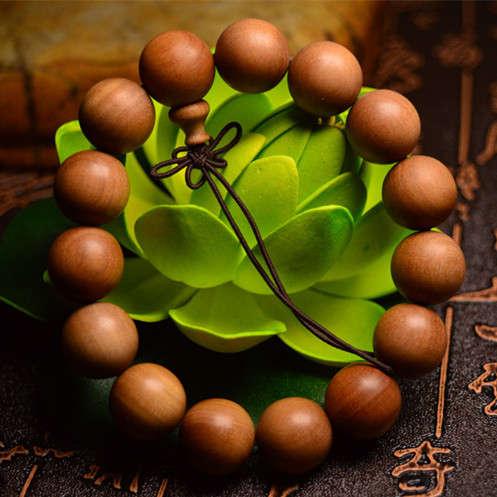印度老山檀香手串檀香1.5cm