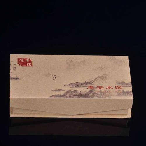 越南惠安水沉沉香盘香2小时36片(配葫芦头香插)