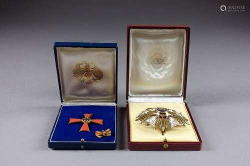 Croix et Ruban de l'Ordre du Mérite de la Républiq…