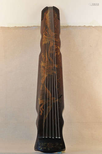 7-9TH CENTURY, AN STRINGED INSTRUMENT OF ANCIENT CHINA, TANG DYNASTY