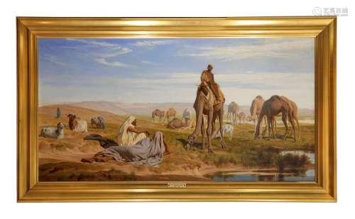 FREDERICK GOODALL R.A. (BRITISH 1822-1904).