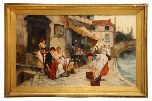 OLIVER RHYS (BRITISH 1854-1907).