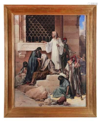 LOUIS HAGHE (BELGIAN 1806-1885).