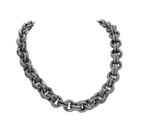 Vintage Lazaro SOHO Sterling Silver Designer Chain