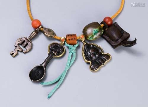 藏式护身符一串