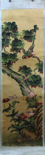 17-19TH CENTURY, UNKNOW <FU SANG YING WU> PAINTING, QING DYNASTY