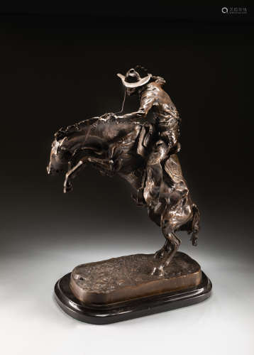 Bronco Buster Frederic Remington Bronze